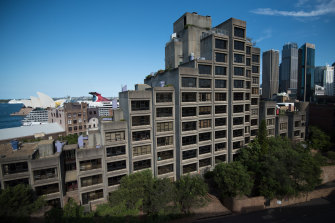 The Sirius building was home to many public housing residents.