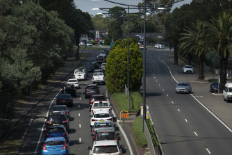 Traffic delays eastbound through Blaxland