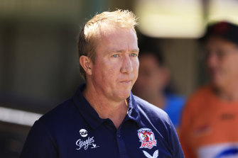 Roosters coach Trent Robinson has been fined $30,000.