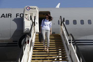 Ardern arrives in Sydney to talk crime, coronavirus, managing coalition partners