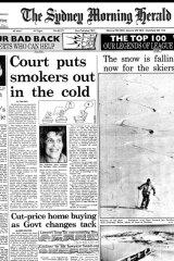 The Sydney Morning Herald Thursday May 28, 1992.