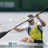 This paddler watched his idol win Beijing gold. Now he's set to be coached by him into an Olympic final