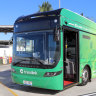 'The future, now': Solar-powered bus takes first passengers
