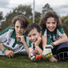 'It's better than school': Cricketers return to the field