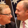 Governor Philip Lowe meets with Treasurer Josh Frydenberg.