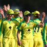 Australia crush Sri Lanka in opening ODI