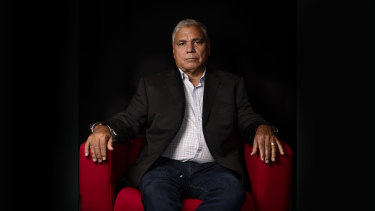 """Warren Mundine said the allegations made by his first ex-wife were """"totally false""""."""