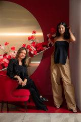 ESSE designer Charlotte Hicks (left, with model) is the winner of the National Designer Award.