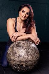 National strongwoman champion Camilla Fogagnolo.