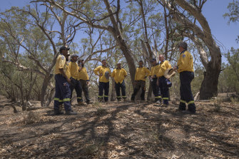 The Indigenous RFS crews have created about a dozen jobs for Aboriginal people in Brewarrina and Bourke.