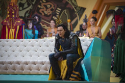 Tom Hiddleston as Loki in Thor: Ragnarok.