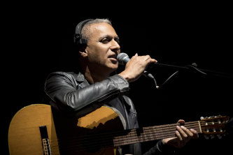 Nitin Sawhney performs Beyond Skin.