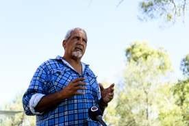 Michael Liddle welcomed the return of the  sacred objects. But he warned that the knowledge of how they were used and where they belonged was dying out with elders.