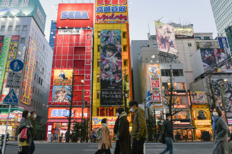 Tokyo's Akihabara district, a center of anime culture. The industry's boom has only widened the gap between profits and wages.