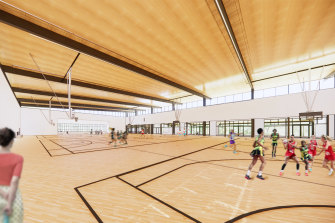 Lane Cove mayor Pam Palmer said there was a lack of indoor sporting facilities in the area.