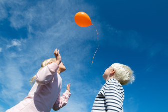 It is no longer legal to release a balloon outdoors in Victoria.