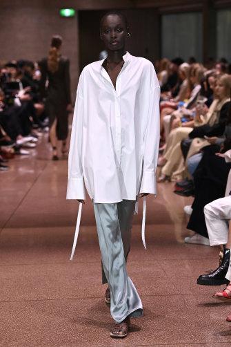 Beare's Park's elevated basics on the Australian Fashion Week runway.