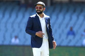 Kohli in Adelaide for the first Test.