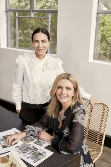 Nicky, left, and Simone Zimmermann will expand their flourishing international business into Paris in the next 12 months.