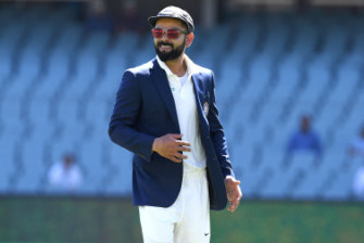 Kohli in Adelaide for the first Test.