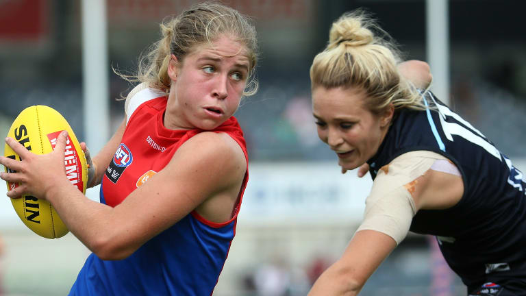 The AFL's women's competition began in 2017.