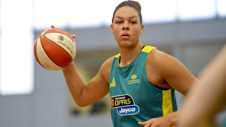 Opals star Liz Cambage says her team should win gold.