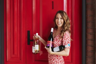 Irene Falcone started her retail business Sans Drinks six months ago, with non-alcoholic wines growing in popularity