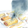 Dark mutterings as the great sausage roll bake-off burns family pride