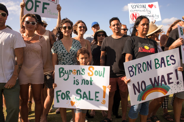 Byron Bay locals wants Netflix show Byron Baes to be shut down.
