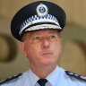 NSW Police Commissioner says force doesn't back pill testing