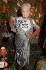 """Style icon: Annabel appreciates Vivienne Westwood's """"ornery yet thoughtful"""" approach to fashion."""