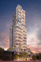 Artist's impression of the new 32-storey tower.