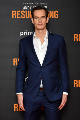 """Andy Murray at the world premiere of """"Andy Murray: Resurfacing""""."""