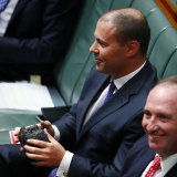 Treasurer Josh Frydenberg, holding a lump of coal in Parliament in 2017, gave approval for the inquiry.