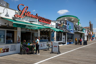 The boardwalk at Ocean City, New Jersey