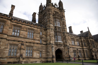 "Sydney University has admonished Dr Marl Allon, saying he ""made an error of judgment""."