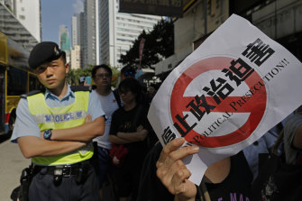 The situation in Hong Kong has attracted many calls to curb Chinese interference.
