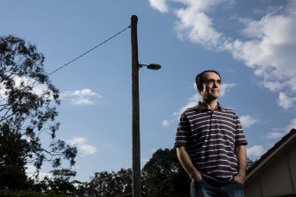 Martin Bugeja was told his home would not be connected to the internet for almost a year.