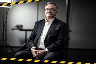 John Nagle, CEO of icare, which runs the NSW workers' compensation scheme.
