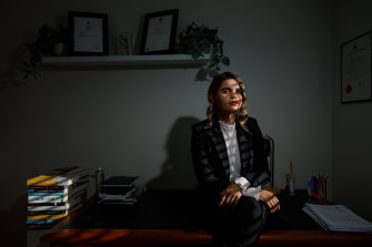 """""""We have the oldest jurisprudence in the world,"""" lawyer and Wiradjuri woman Taylah Gray said of First Nations Australians."""
