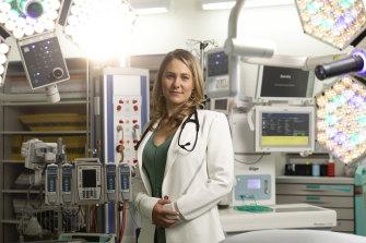 Cardiologist Dr Nicole Bart at St Vincent's Hospital.