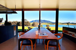 The Mystery Bay House is located so it faces Mount Gulaga, a sacred place to people of the Yuin nation on NSW's south coast.