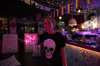 Manager of Calaveras tequila bar Harriet Clarke said the industry is seriously concerned about a second closure.