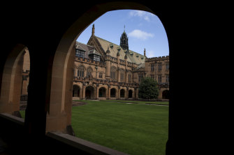 The University of Sydney is yet to reveal how COVID-19 will affect its revenue next year.