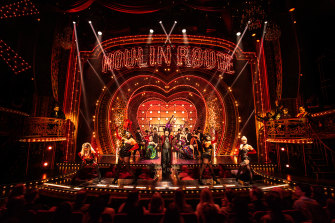 Moulin Rouge this year received 14 Tony Award nominations.