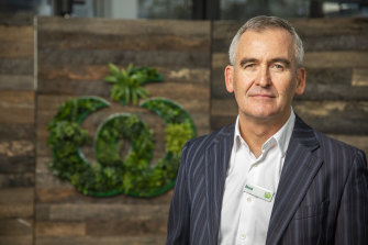 Woolworths chief executive Brad Banducci is more sanguine about the rest of the year than his rival Steven Cain.