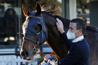 Luke Price, pictured, and father Robert have a strong hand on their home track on Thursday.