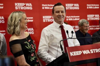 Mark McGowan faces little opposition after the weekend's election.