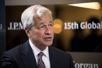 """JPMorgan CEO Jamie Dimon said last month his bank was """"buying back stock because our cup runneth over""""."""