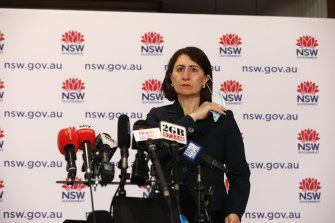 NSW Premier Gladys Berejiklian on Friday.